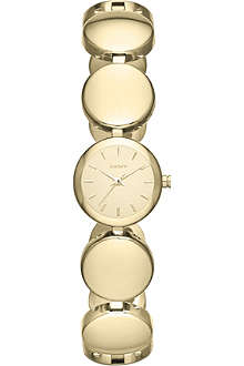 DKNY NY8867 Roundabout gold-plated watch