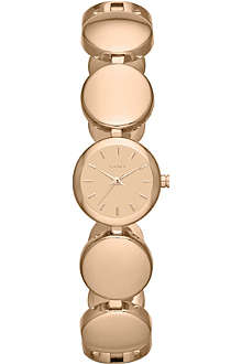 DKNY NY8868 Roundabout rose gold-toned watch