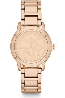 DKNY NY8877 Park avenue rose gold-toned watch