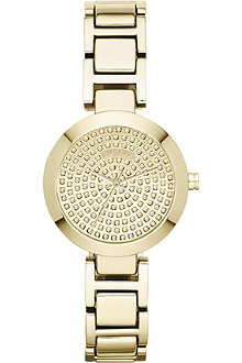 DKNY NY8892 Sasha gold-toned watch