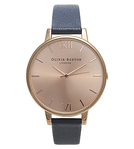 OLIVIA BURTON Ladies big dial watch (Gold