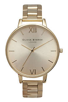 OLIVIA BURTON Ladies big dial bracelet