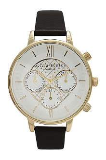 OLIVIA BURTON Ladies big dial chronograph watch
