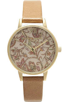 OLIVIA BURTON Paisley face watch