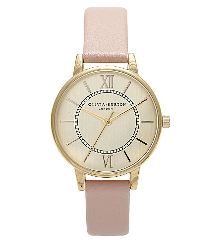 OLIVIA BURTON Ladies 'Wonderland' watch (Gold