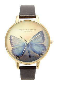 OLIVIA BURTON Ladies 'Woodland' butterfly print watch