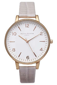 OLIVIA BURTON Ladies white face watch