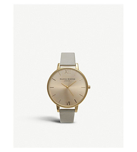 OLIVIA BURTON Big dial watch (Gold