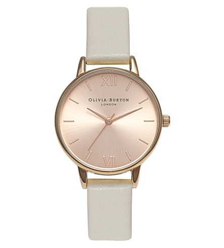 OLIVIA BURTON Midi dial watch (Gold