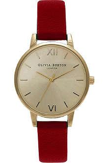 OLIVIA BURTON White face watch