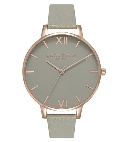 OLIVIA BURTON Ob15bd61 Big Dial stainless steel watch (Grey