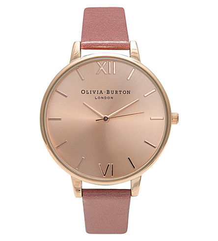 OLIVIA BURTON OB15BD78 rose gold-plated watch