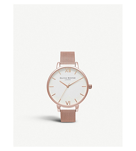 OLIVIA BURTON OB15BD79 rose gold-plated watch