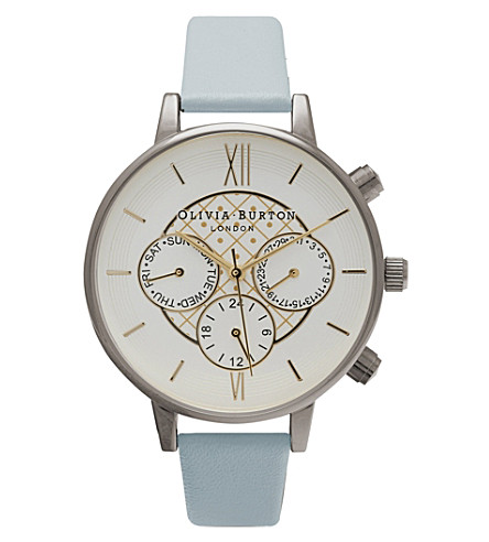 OLIVIA BURTON Chronograph silver-plated watch (Silver