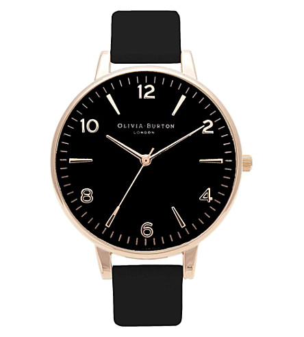 OLIVIA BURTON Gold-toned watch (Black