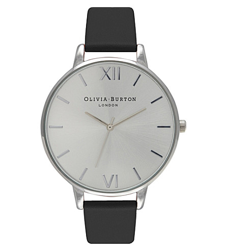 OLIVIA BURTON OB15GSET02 watch with interchangeable strap gift set (Silver