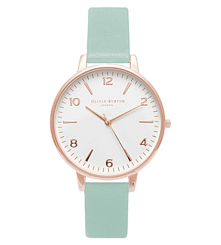 OLIVIA BURTON OB15MV39 Modern Vintage rose gold-plated watch
