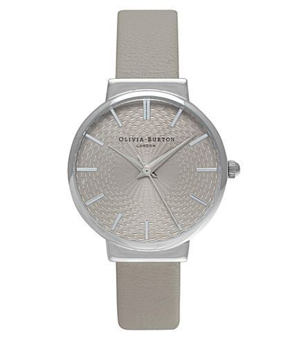 OLIVIA BURTON OB15TH11 The Hackney silver-plated mesh watch