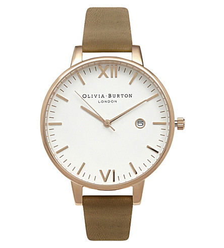 OLIVIA BURTON ob15TL06 Timeless gold-tone stainless steel watch
