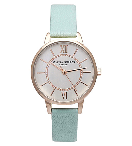 OLIVIA BURTON OB15WD47 wonderland stainless steel watch (Mixed