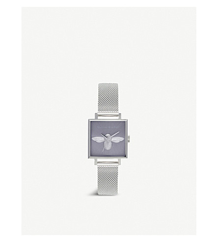 OLIVIA BURTON OB16AM136 3D Bee stainless steel watch