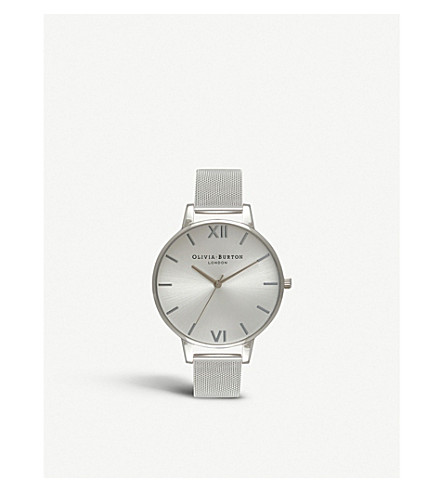OLIVIA BURTON OB16BD104 Big Dial stainless steel watch