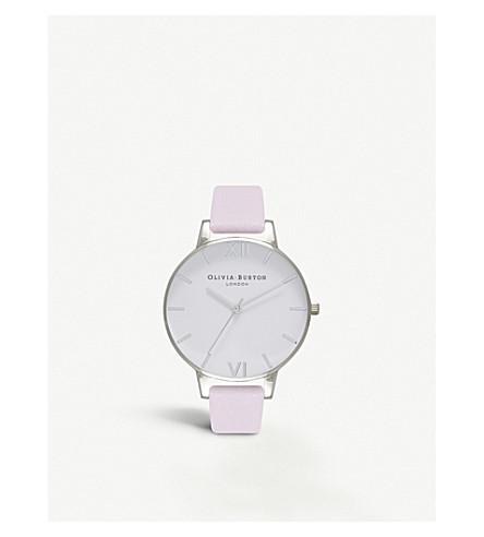 OLIVIA BURTON Blossom silver-plated watch