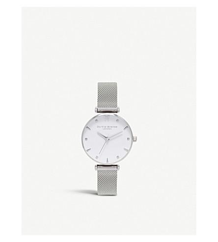 OLIVIA BURTON Quartz silver plated watch