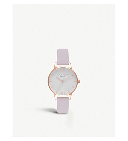 OLIVIA BURTON Blossom rose gold-plated watch