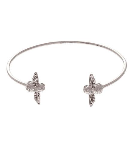 OLIVIA BURTON Moulded bee sterling silver bracelet