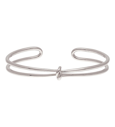OLIVIA BURTON Forget Me Knot silver-plated bracelet