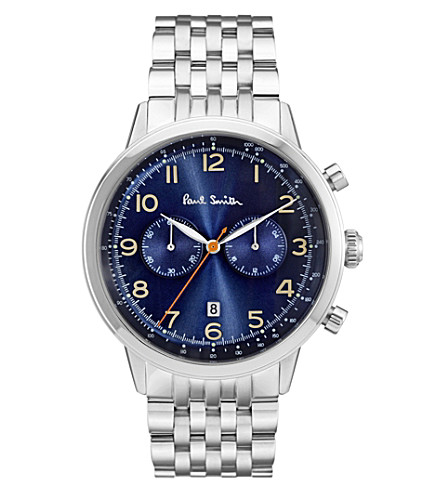 PAUL SMITH Precision stainless steel chronograph watch