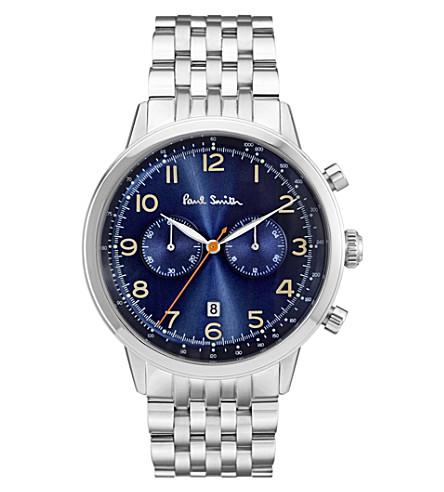 PAUL SMITH 精密不锈钢计时手表