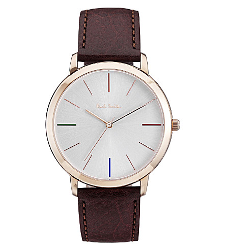 PAUL SMITH P10053 Ma stainless steel watch