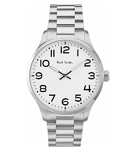 PAUL SMITH Tempo P10063 stainless steel watch
