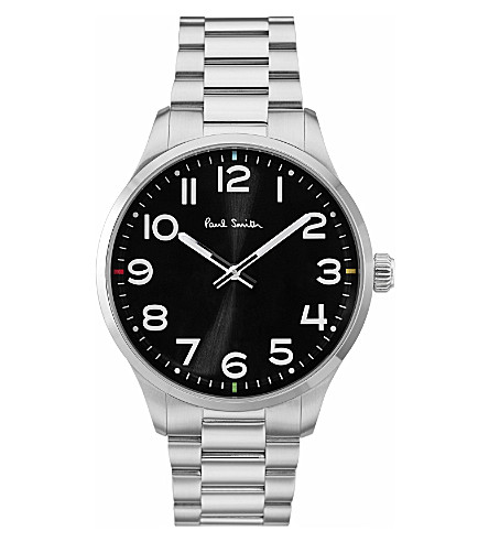 PAUL SMITH Tempo P10064 stainless steel watch
