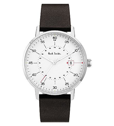 PAUL SMITH Gauge P10072 stainless steel watch