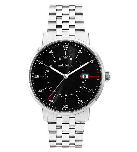 PAUL SMITH Gauge P10073 stainless steel watch