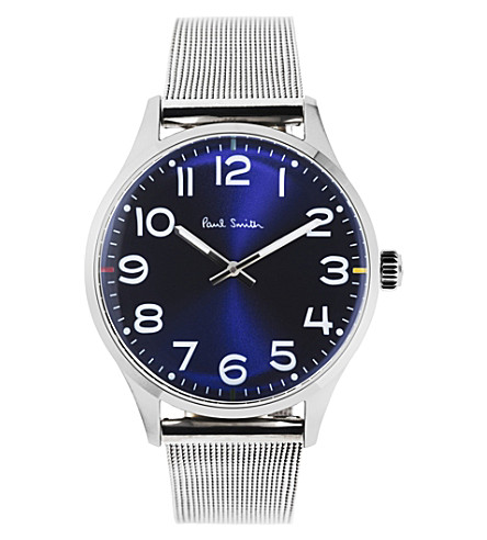 PAUL SMITH P10121 Tempo stainless steel watch