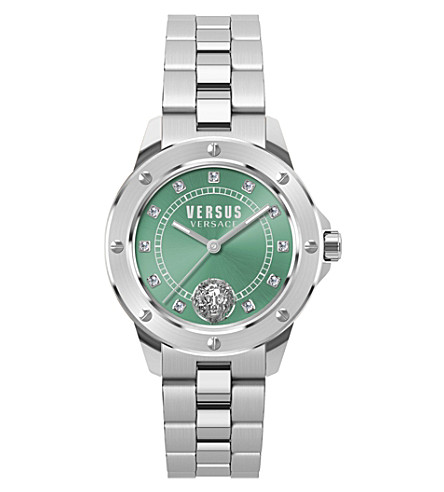 VERSUS S28010017 South Horizons stainless steel and crystal watch