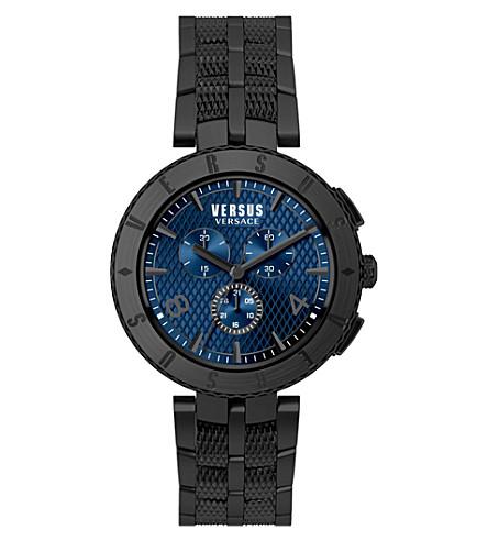 VERSUS Chrono blue dial bracelet strap