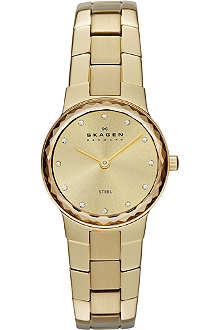 SKAGEN SKW2073 gold-toned stainless steel watch