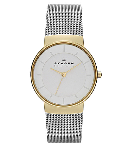 SKAGEN SKW2076 stainless steel watch (White