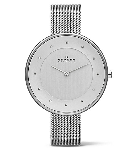 SKAGEN SKW2140 two-hand silver watch (Silver