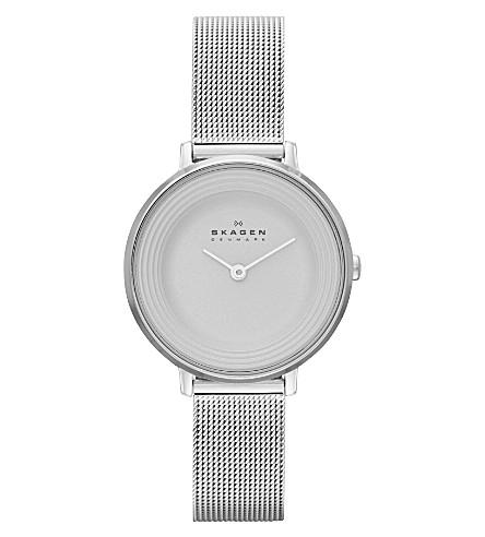 SKAGEN SKW2211 Ditte stainless steel watch (White