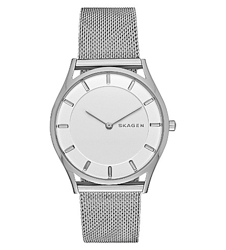 SKAGEN SKW2342 Holst stainless steel watch (White