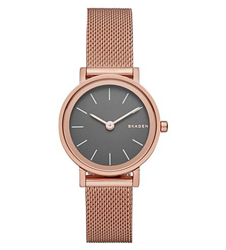 SKAGEN Hald stainless steel watch (Black