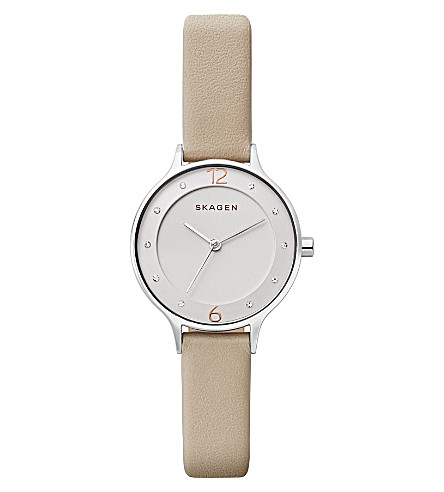 SKAGEN SKW2648P Anita rose gold-plated stainless steel watch