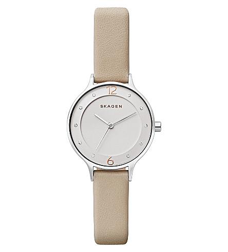 SKAGEN SKW2648P Anita rose gold-plated stainless steel watch