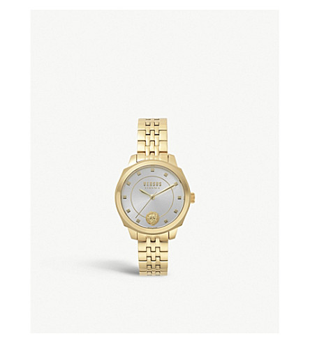 VERSUS SP5106-0018 New Chelsea gold-plated stainless steel watch